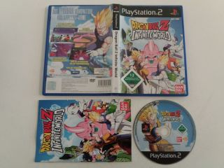 PS2 Dragon Ball Z Infinite World