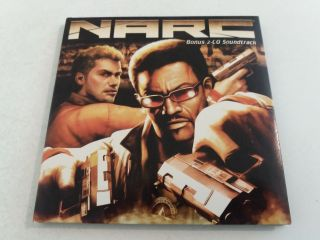 Xbox Narc Bonus 2-CD Soundtrack