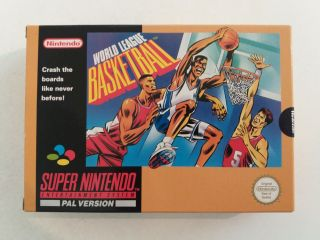 SNES World League Basketball UKV