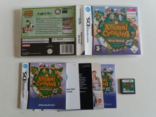 DS Animal Crossing Wild World NOE