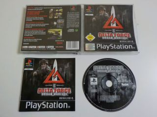 PS1 Delta Force Urban Warfare