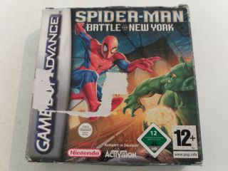 GBA Spider-Man Battle for New York NOE