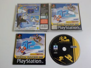 PS1 Snow Racer 98