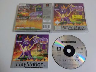 PS1 Spyro The Dragon