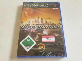 PS2 Need for Speed Undercover