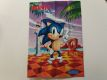 MD Sonic The Hedgehog Poster / Mega Drive Advertising