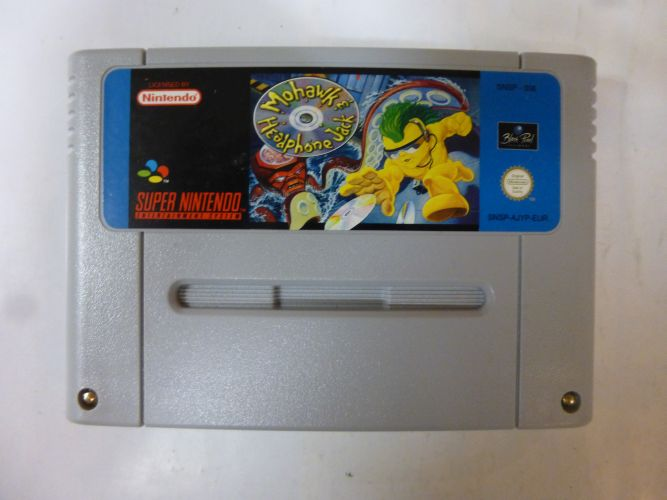 SNES Mohawk & Headphone Jack EUR