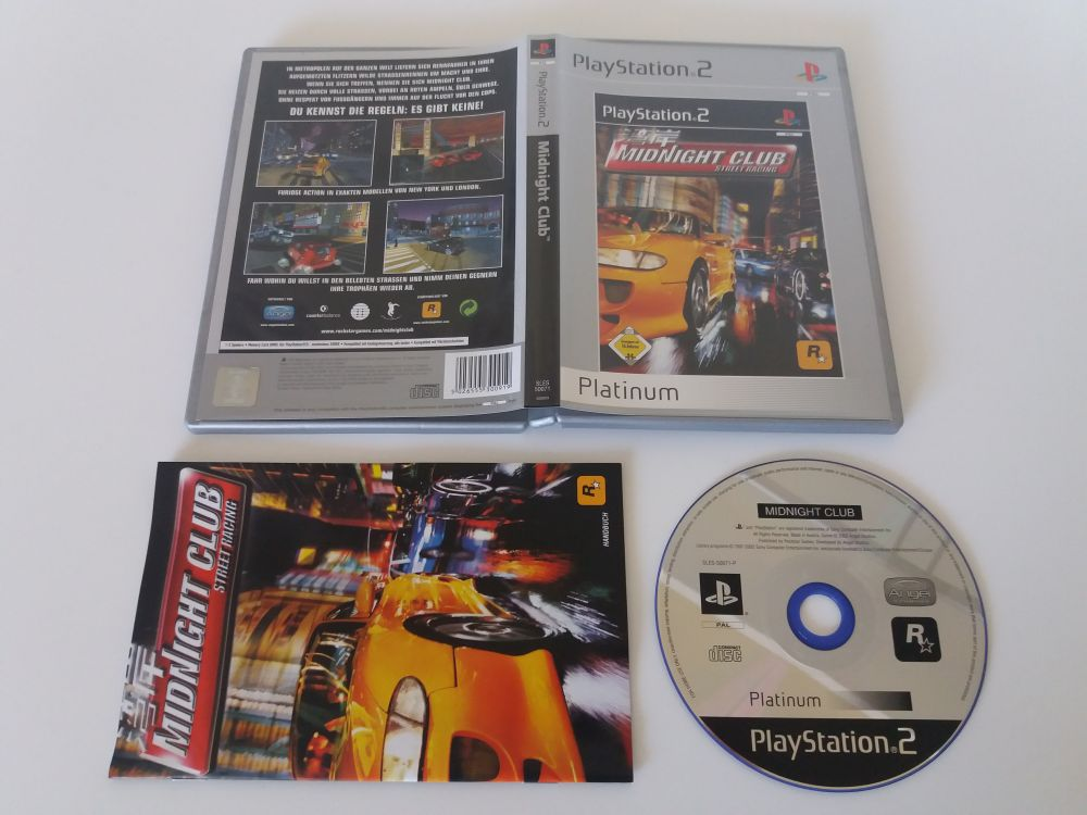 PS2 Midnight Club Street Racing