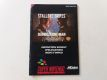 SNES Demolition Man EUR Manual