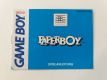 GB Paperboy FRG Manual