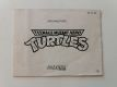 NES Teenage Mutant Hero Turtles NOE Manual