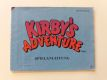 NES Kirby's Adventure NOE/FRG Manual