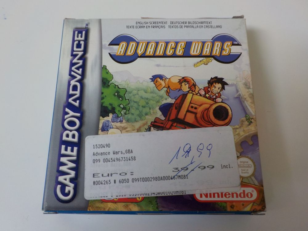 GBA Advance Wars NEU6