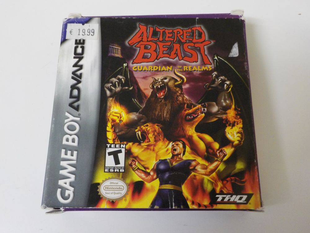 GBA Altered Beast USA