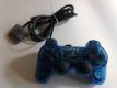PS1 Dual Shock Controller Clear Blue