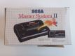 MS Master System II Console + Box + Accessories