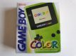 GBC Game Boy Color Green