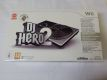 Wii DJ Hero 2 + Turntable Controller