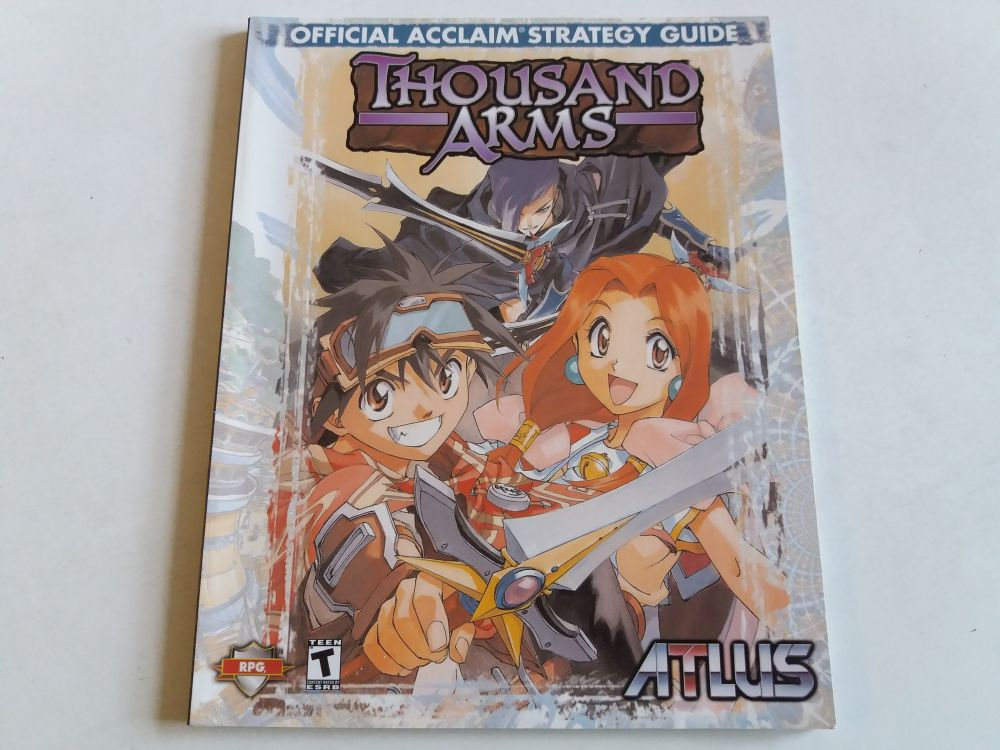Thousand Arms Official Acclaim Strategy Guide