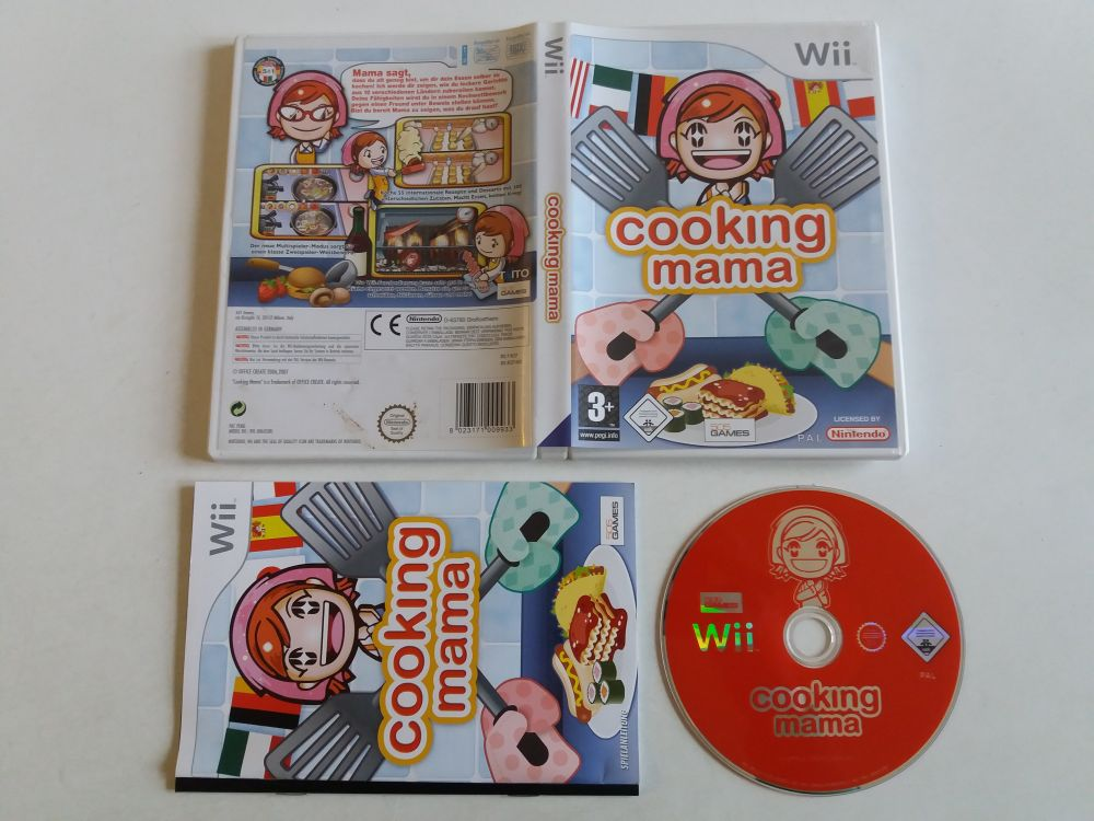 Wii Cooking Mama NOE