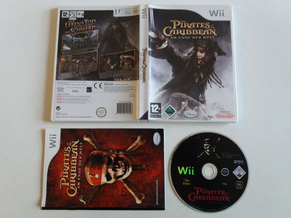 Wii Pirates of the Caribbean Am Ende der Welt NOE