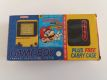 GB Game Boy Classic Yellow + 2 Games + Carry Bag
