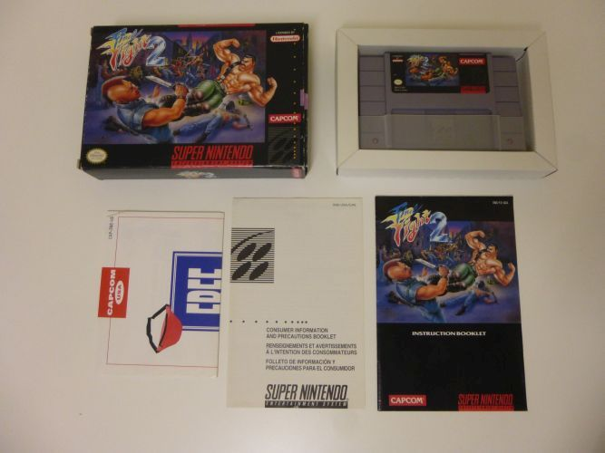 SNES Final Fight 2 USA