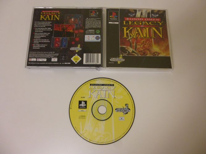 PS1 Blood Omen Legacy of Kain