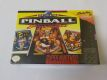 SNES Super Pinball Behin the Mask USA