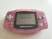 GBA Game Boy Advance Transparent Pink