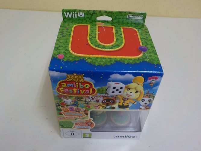 Wii U Animal Crossing Amiibo Festival Limited Edition