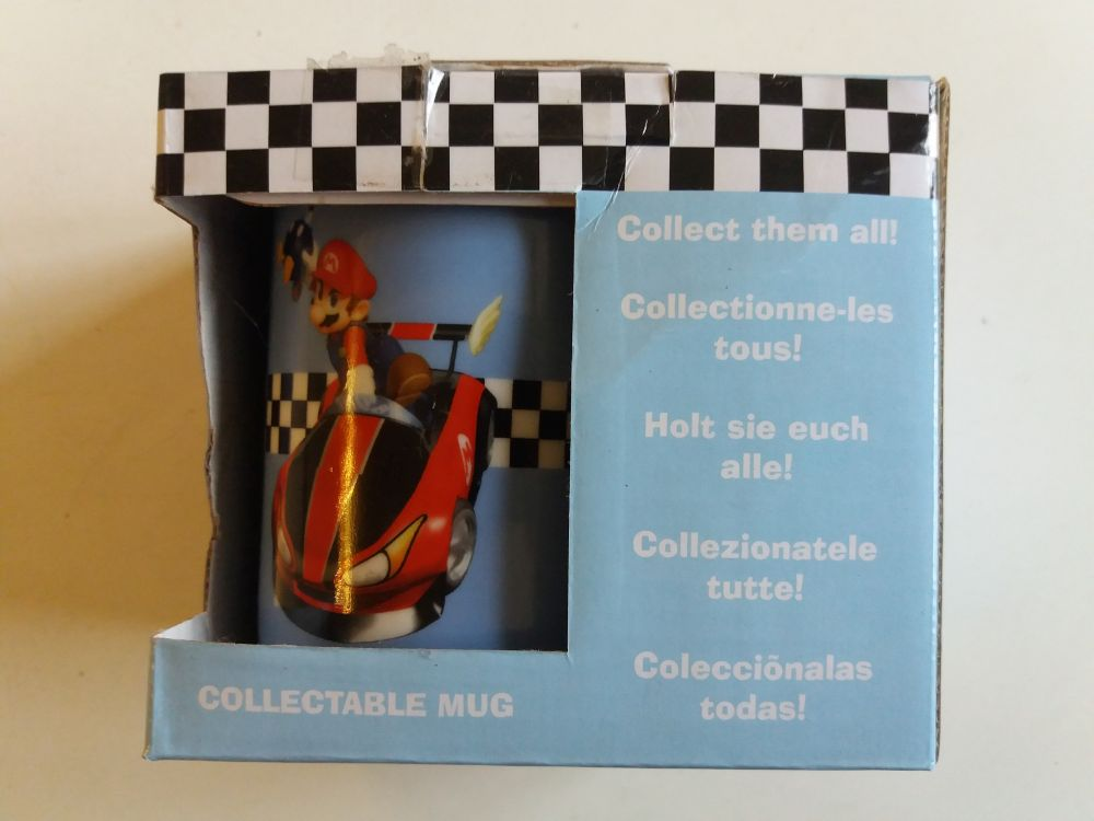 Mario Kart Wii Collectable Mug - Mario