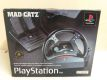 PS1 Mad Catz Steering Wheel with Foot Pedals
