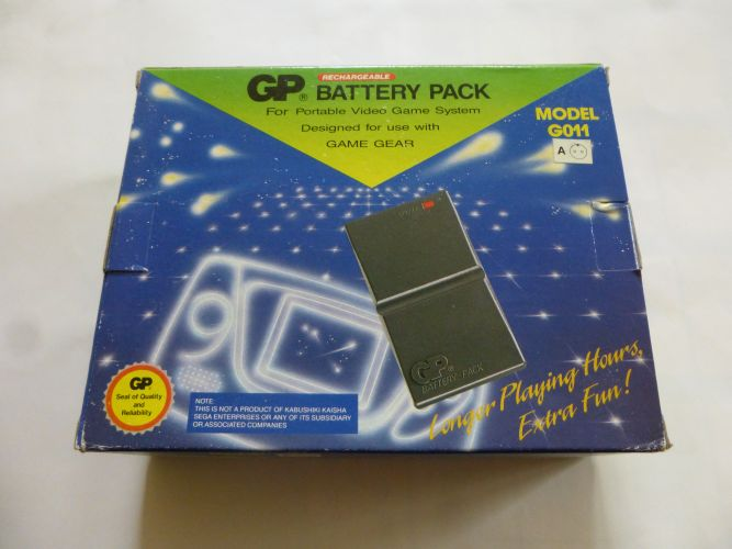 GG Game Gear Battery Pack