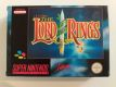 SNES The Lord of the Rings EUR