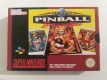 SNES Super Pinball Behind the Mask FAH