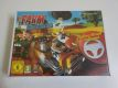 Wii Farm Animal Racing + Racing Wheel