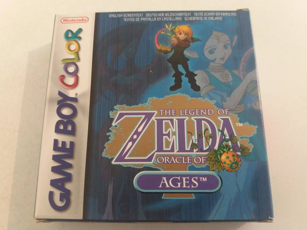 GBC The Legend of Zelda Oracle of Ages NEU5